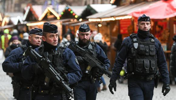 Cómo fue el ataque de un terrorista en Estrasburgo que mató a inocentes y empañó la Navidad de toda Francia en el 2018. Foto: AFP