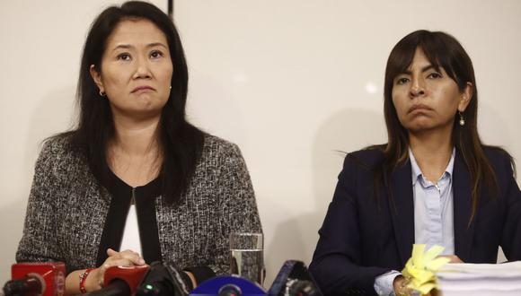La aboga de Keiko Fujimori, Giulliana Loza, señaló que la excandidata presidencial comparte espacios en el penal con otras internas (Foto: GEC)
