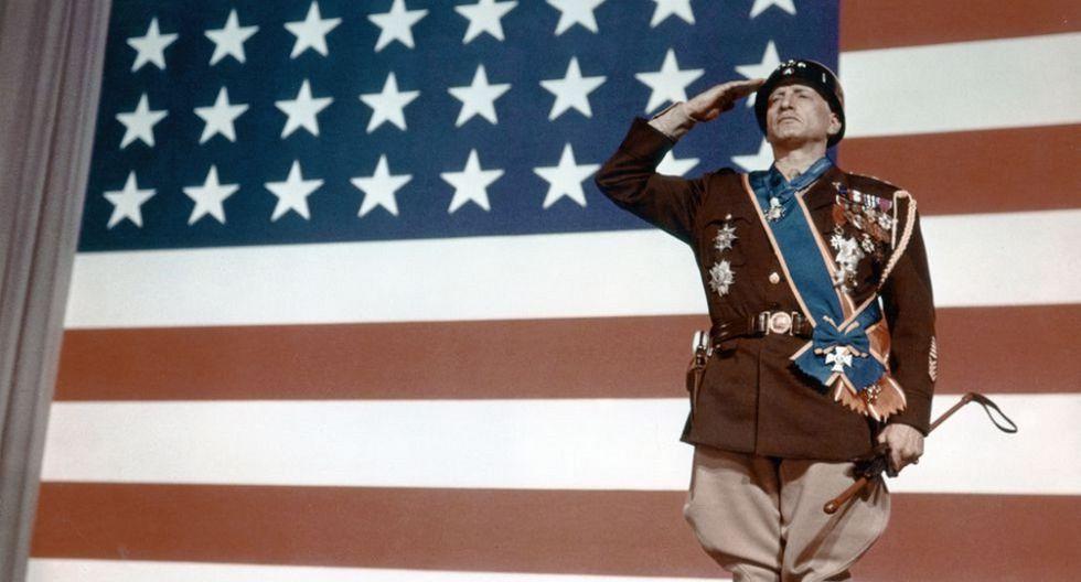 11. PATTON (1970) Dirección: Franklin J. Schaffner (Foto: 20th Century Fox)