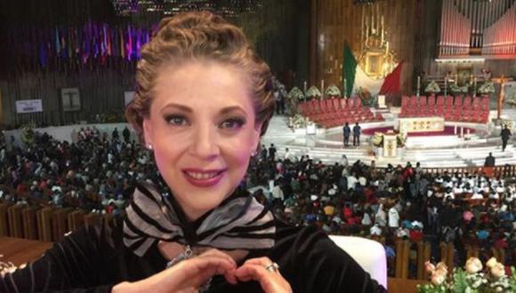 La actriz mexicana Edith González enfrentó una dura lucha contra el cáncer. (Foto Instagram)