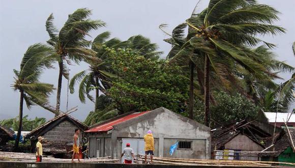 El tifón Phanfone dejó siete muertos en el centro de Filipinas | Tifón Ursula | Asia