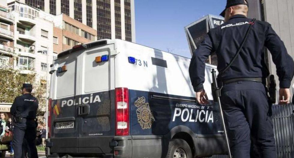 Agentes de la Policía de España realizaron un recorrido por la zona y hallaron a la madre rápidamente. (Foto: EFE)
