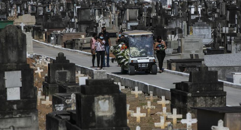 Coronavirus en Brasil   Últimas noticias   Último minuto: reporte de infectados y muertos hoy, jueves 07 de enero del 2021   Covid-19. (Foto: AP Photo/Bruna Prado).