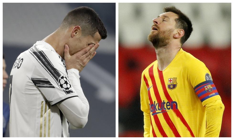 Primera vez, desde el 2005, que ni Cristiano Ronaldo ni Lionel Messi jugarán los cuartos de final de la Champions League