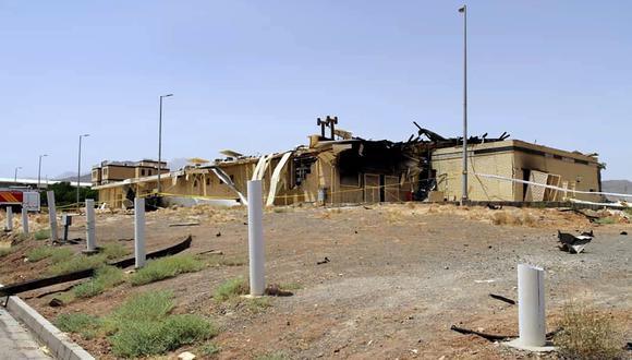 El incidente tuvo lugar en un almacén en construcción en el complejo de Natanz, en el centro de Irán, pero no causó víctimas ni contaminación radioactiva, según el organismo nuclear de la república islámica. (AFP).