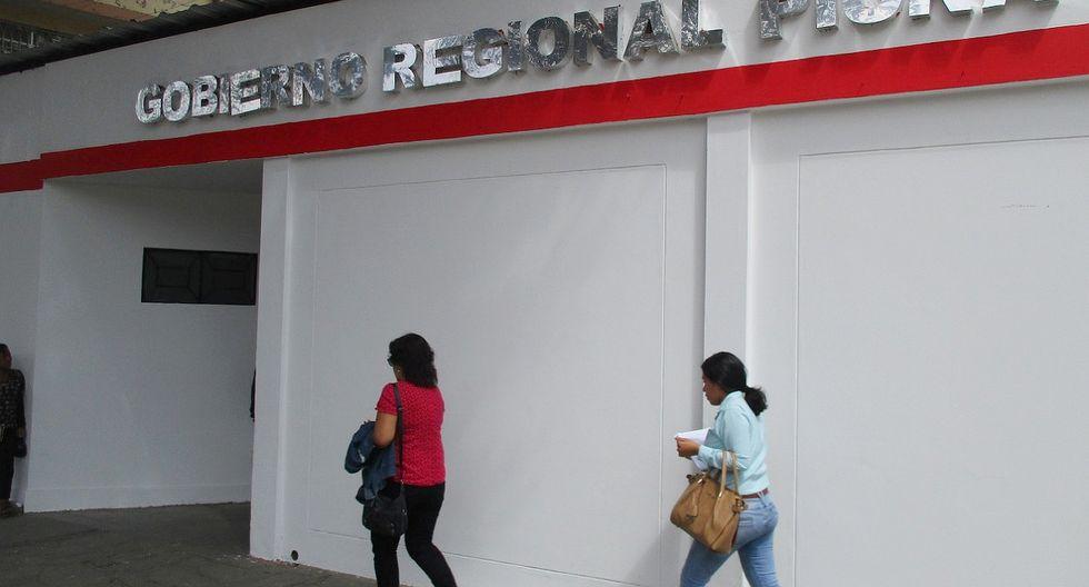 El Gobierno regional de Piura ha sido objeto de muchas críticas desde el inicio de la gestión de Servando García. Ahora afronta una nueva denuncia. (Foto: Carlos Chunga)