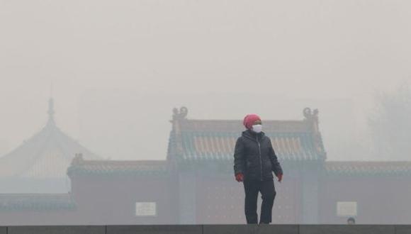 Nueva alerta roja por contaminación ambiental en Beijing