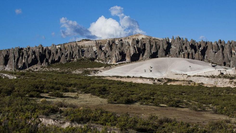 El Bosque de piedras es uno de los más famosos del país. (Archivo / El Comercio)