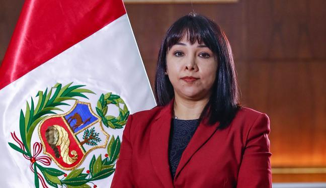 La primera ministra, Mirtha Vásquez, pidió a la presidenta del Congreso, María del Carmen Alva, agendar el pedido de voto de confianza para el Gabinete Ministerial. (Foto: PCM)