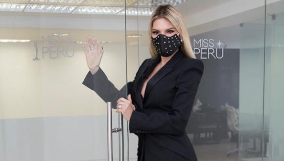 Jessica Newton denunció que fue víctima de robo en el aeropuerto. (Foto: Organización Miss Perú).