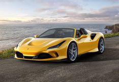 Ferrari F8 Spider el nuevo descapotable que alcanza los 340 kmh   FOTOS