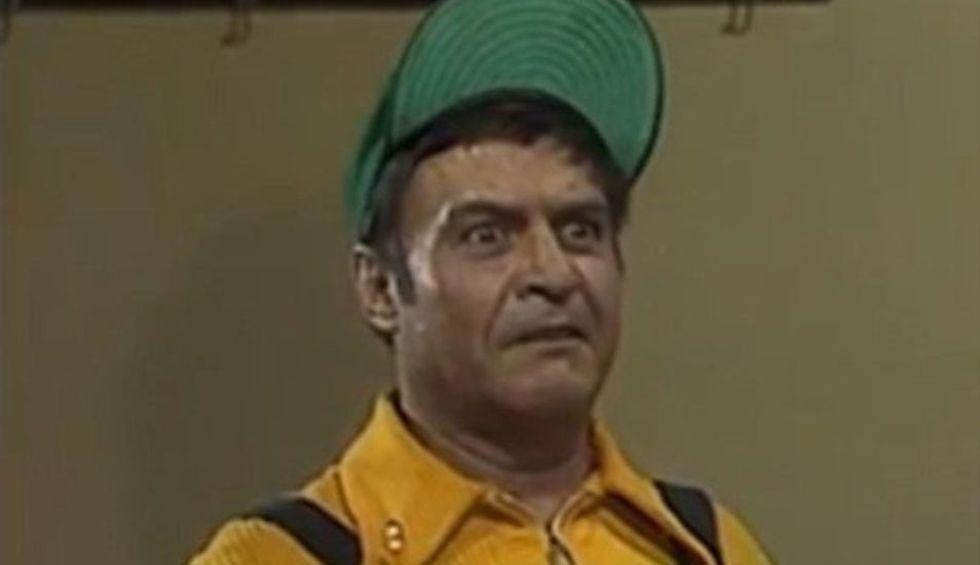 Es un niño que viste overol y gorra de béisbol. Las apariciones de Godínez son muy poco frecuentes, pero muy graciosas. (Foto: Televisa)