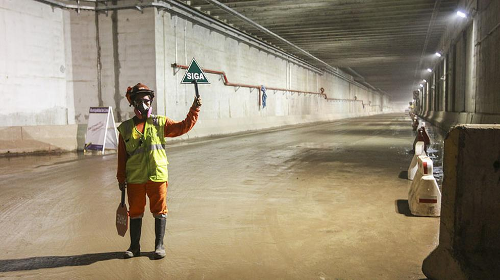 Línea Amarilla: así se ven las fisuras y filtraciones en túnel - 4