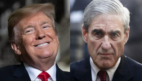 """Rusia - Donald Trump: el informe de Robert Mueller concluye que la campaña del presidente de Estados Unidos """"no conspiró"""" con Moscú en las elecciones del 2016. (AFP - AP)"""