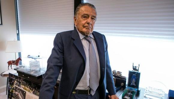 El empresario argentino Eduardo Eurnekian retornó a la lista Forbes. (Getty Images).