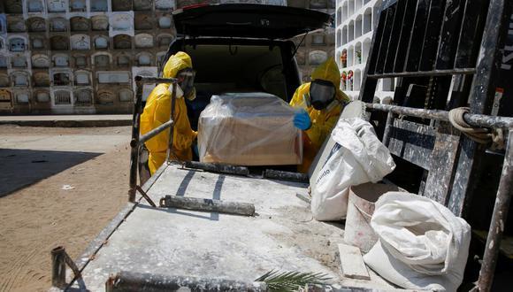 Se registra nueva cifra de fallecidos por COVID-19. (Foto: Reuters)