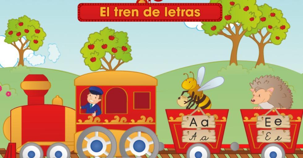1. El tren de las letras. Para los más pequeñitos, este divertido juego va a reforzar el aprendizaje del abecedario, la correcta escritura, la formación y conjugación de las sílabas, y el reconocimiento de letras. Esta entretenida herramientas es ideal para los niños de seis años en adelante.  (Fotos: Difusión)