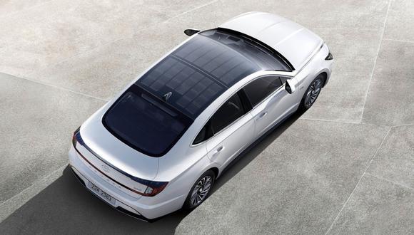 Hyundai sonata híbrido. (Foto: Hyundai)