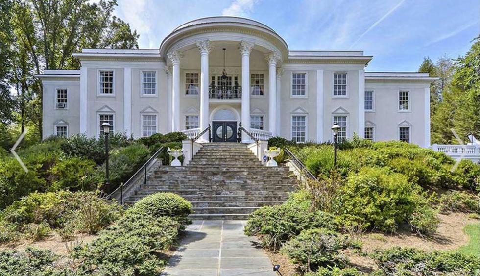 Esta mansión basó su diseño en la emblemática Casa Blanca de Washington D.C. (Foto: truplace.com)