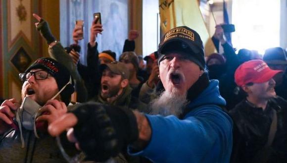 La mayoría de los seguidores de Trump que asaltaron el Congreso el miércoles eran blancos. (Foto: Getty Images)