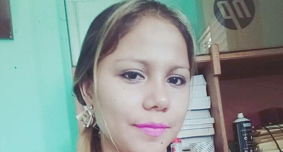 Isabel Alvarado tenía 28 años. Fue estrangulada, golpeada y enterrada en una fosa, en Loreto. (Foto: Facebook)