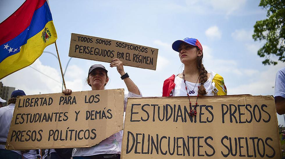 """Venezuela: El """"plantón"""" en protesta contra Nicolás Maduro - 3"""