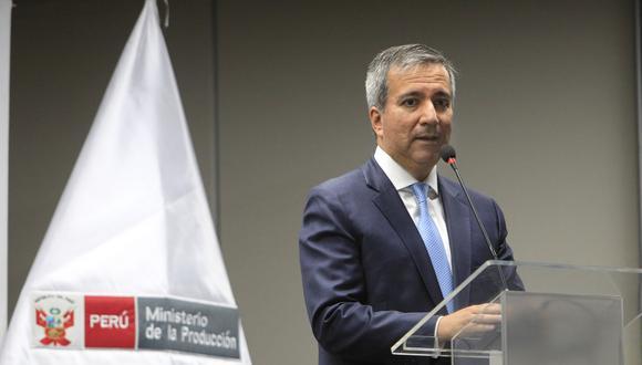 Raúl Pérez-Reyes, recién designado ministro de la Producción.