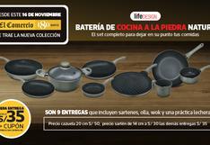 BATERÍA DE COCINA NATURE los utensilios ideales para renovar la cocina.