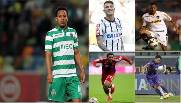 Pizarro, Vargas, Carrillo y Guerrero: ¿y ahora dónde jugarán?