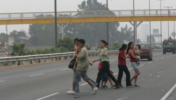 Anuncian construcción de puentes peatonales en Puente Piedra