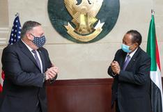 Estados Unidos retira formalmente a Sudán de su lista de países terroristas