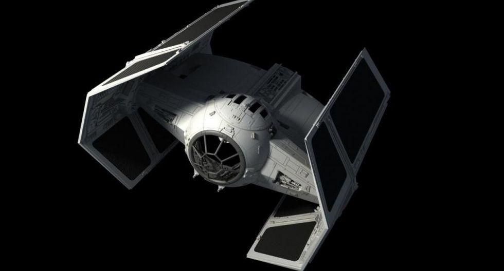 Tie-Advanced. La Tie-Fighter personal de Darth Vader, es más rápida, ágil y poderosa. Sus alas dejan de ser planas y están dobladas lo que le da un aspecto más intimidante.