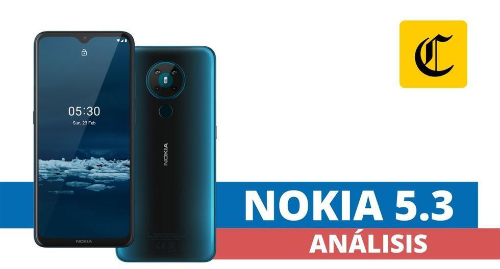 El Nokia 5.3 es un smartphone de gama media que tiene un desempeño bastante sorprendente. (El Comercio)