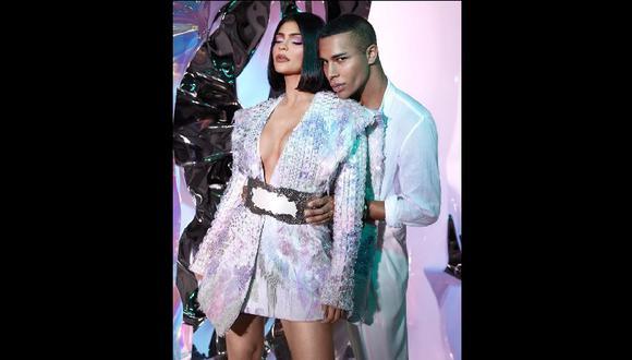 Kylie Jenner x Balmain