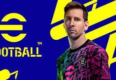El videojuego eFootball 2022, sucesor de PES, se lanzará el 30 de setiembre