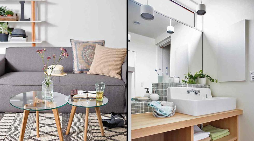 Ideas increíbles para combinar el gris y la madera en tu casa - 5