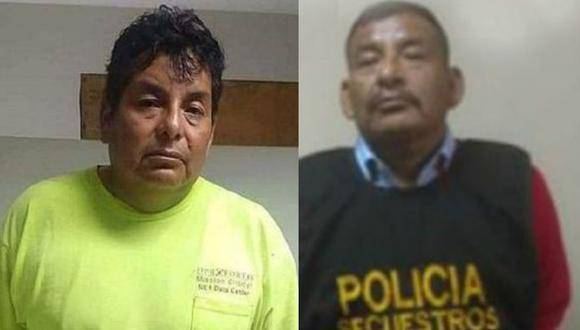 José Carlos y Miguel Ángel Llanqui Pari fueron capturados por el programa de recompensas del Ministerio del Interior.