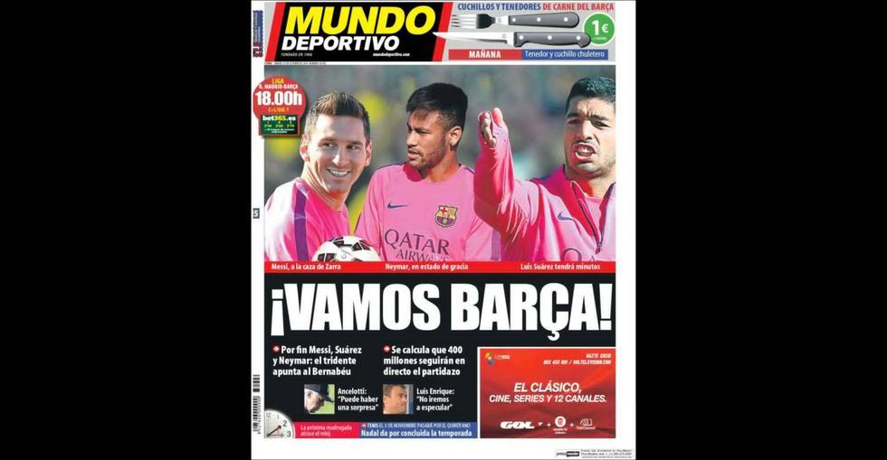 Real Madrid vs. Barcelona: ¿cuál te parece la mejor portada? - 4