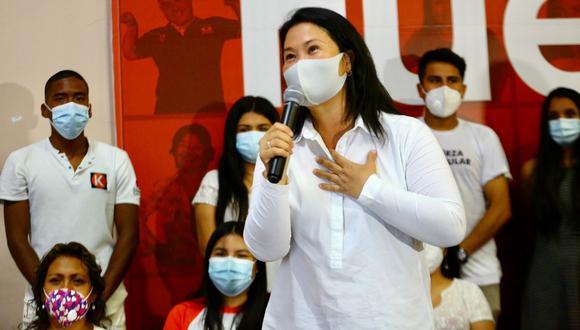 Keiko Fujimori podrá continuar con viajes por el país en el marco de su campaña presidencial. (Foto: Twitter/Keiko Fujimori)