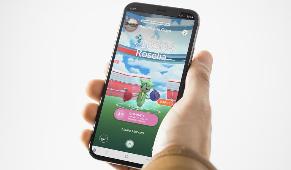 ¡Ya puedes hacer incursiones remotas en todos los gimnasios cerca a tu casa! Entérate cómo activarlas en Pokémon GO. (Foto: Nintendo)