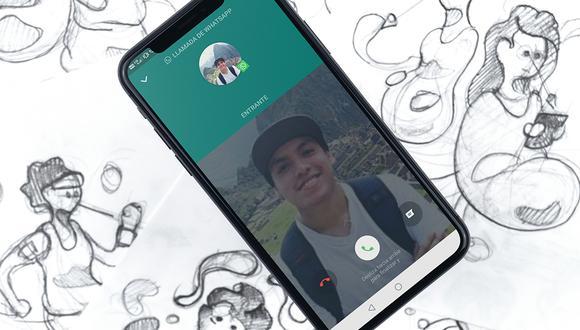 ¿Ya te diste cuenta del cambio de las llamadas de WhatsApp? Aquí te contamos de qué se trata y cómo activarlo. (Foto: WhatsApp)