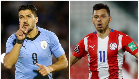 Uruguay enfrenta a Paraguay en la fecha 7 de las Eliminatorias   Fotos: Agencias