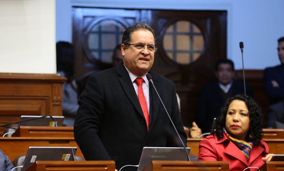Luis Iberico es parte de la Comisión Permanente. (Foto: Congreso)