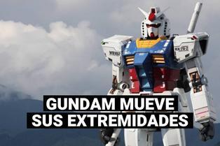 Japón: Gundam de Yokohama inicia sus primeras pruebas de movimiento completo