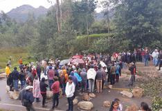 Apurímac: manifestantes bloquean vías durante paro de 48 horas