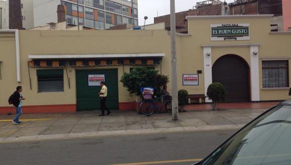 Miraflores: clausuran pastelería en donde se halló cucaracha