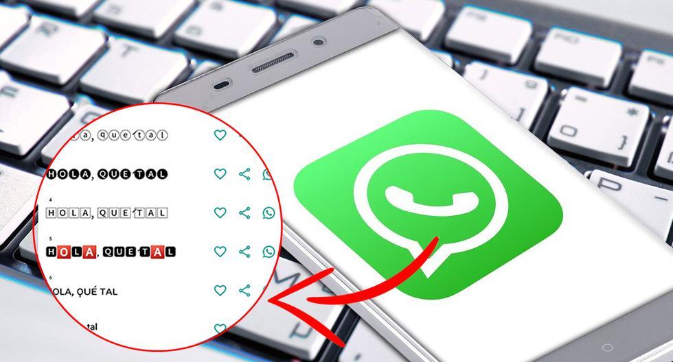 ¿Quieres cambiar la letra de tu WhatsApp? Entonces sigue estos pasos para poderlo lograr a cabalidad. (Foto: WhatsAPp)