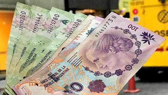 Peso argentino. (Foto: Archivo)