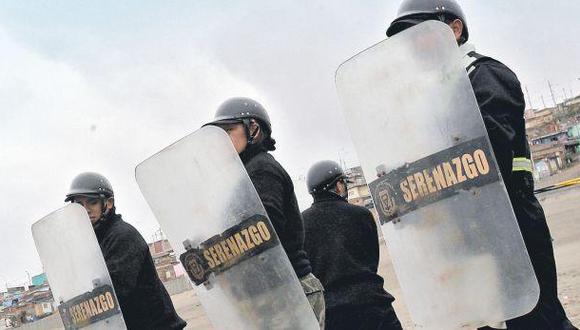 Serenos portarán armas no letales para patrullar con la PNP