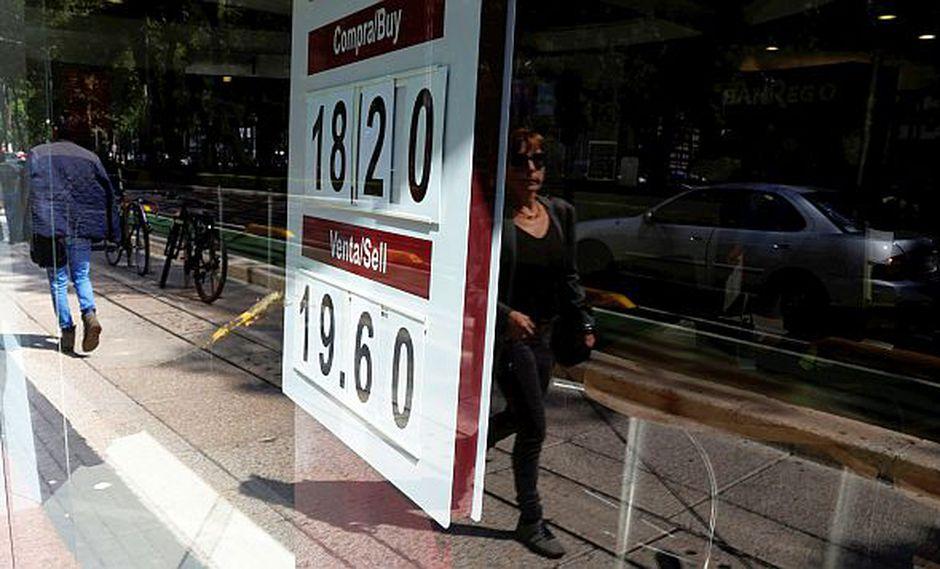 En las últimas dos sesiones, el peso mexicano acumula un rendimiento del 0,31%. (Foto: Reuters)